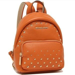 MICHAEL KORS ERIN SM CONVERTIBLE STUDDED BACKPACK